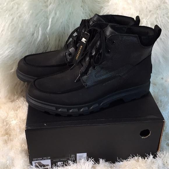 686d0c64044 Men's SOREL Portzman Moc Toe Waterproof Boots NWT